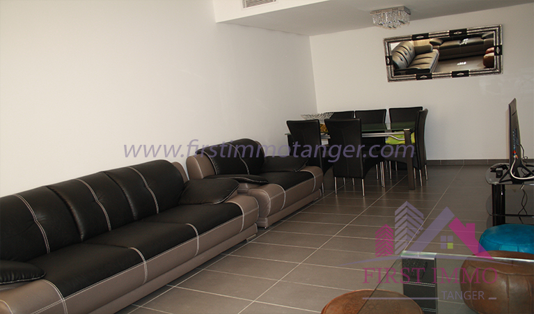 Spacieux Appartement Meublé A Louer Au Centre De Tanger. Image